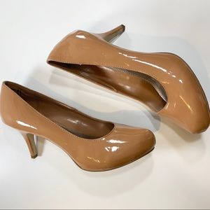 Brash | Tan Light Brown Heels Pumps 12